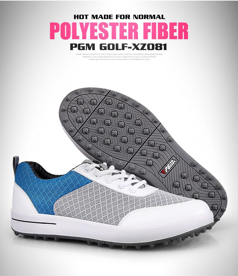 PGM 2017 Hot selling ladies golf shoes soft mesh Light Weight Anti-slip PGM golf women golf shoes leather sneakers women shoes