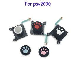 Hitam Putih Asli Baru Kiri Kanan Joystick Controller untuk Sony PS Vita PSV 2nd Gen 2000 Analog Joystick Untuk ALPS Joystick