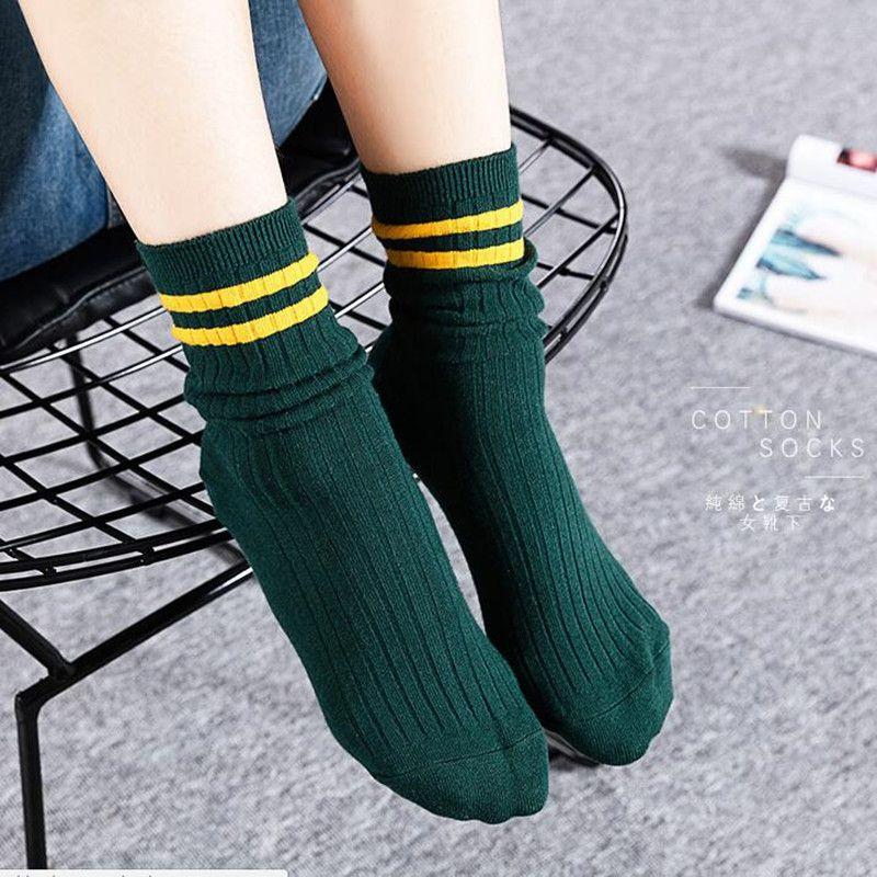 2018 Для женщин зимние носки высокого качества хлопка с длинным петухи модные Носки 60 пар/компл.