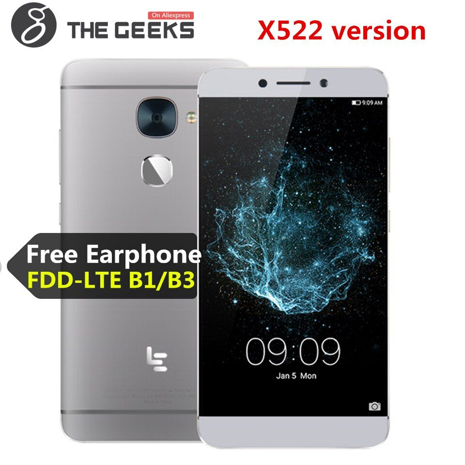 LeEco LeTV Le S3 X522/Le 2 X526 3GB RAM 32GB ROM Snapdragon 652 1.8GHz Octa Core 5.5 Inch Android 6.0 4G LTE Smartphone