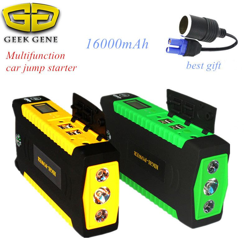 Car Jump Starter Ignition Mobile Power Phone Supply Pack  Battery Booster Pack  Auto Starting Device Jumpstarter high power