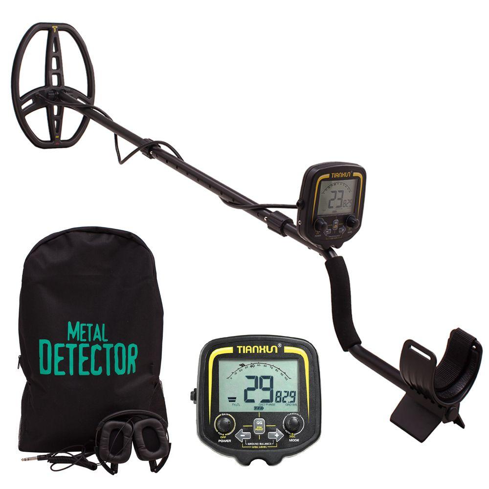 Tragbare LCD Display TX-850 Tiefe Metall Detektor Unterirdischen Gold Hunter Finder Hohe Empfindlichkeit