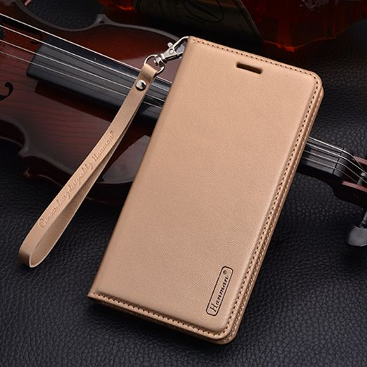 Luxury PU Leather Wallet case For Huawei P8 Lite (2017) P9 Lite (2017) Honor 8 Lite Magnetic suction Card Holder