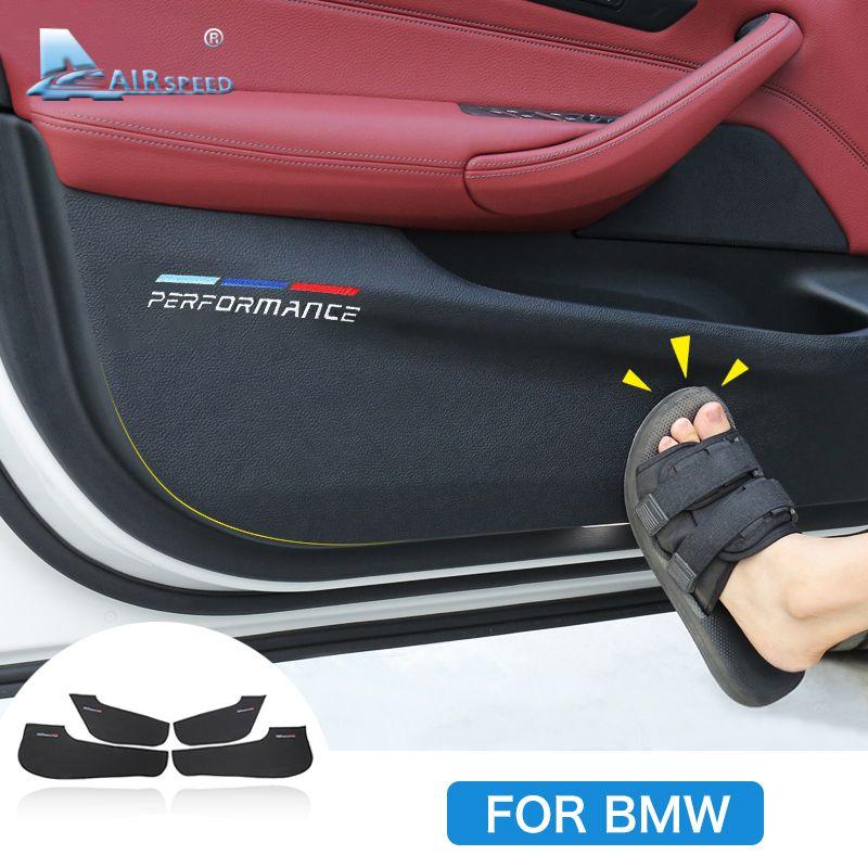 Car Interior Door Anti-dirty Pad Anti-Kick Pad Door Protection Cover for BMW F30 F34 F10 F48 F25 F26 F15 F16 F01 G30 G32 G01