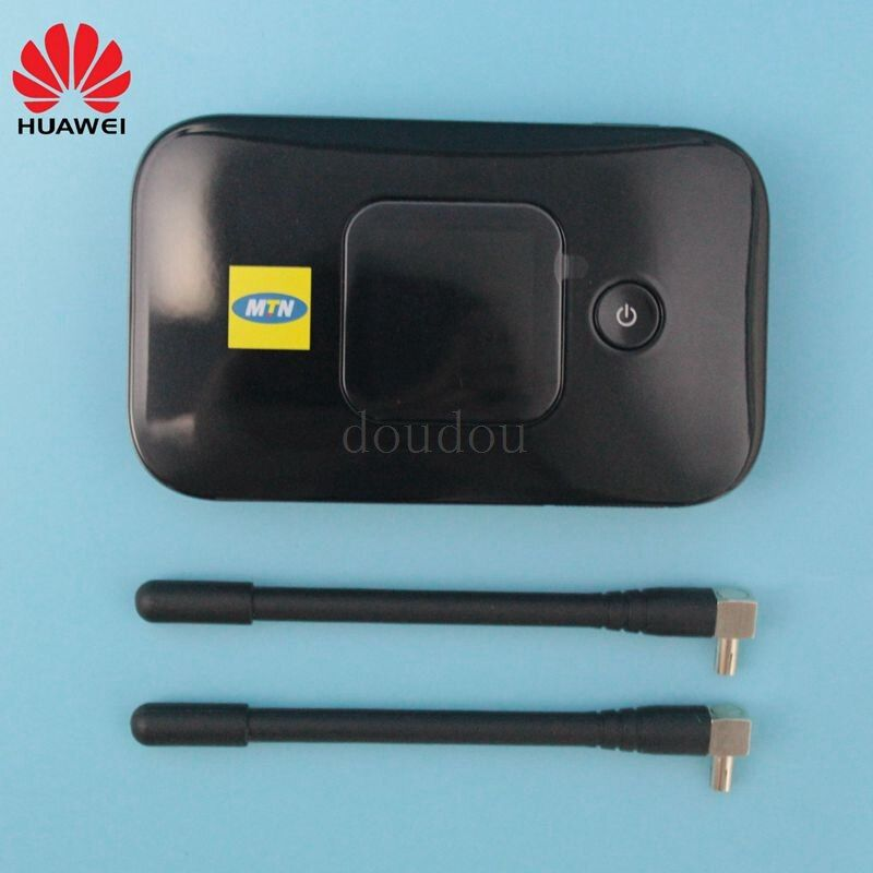 Unlocked New HUAWEI E5577 with Antenna 4G LTE Cat4 E5577s-321 3000 mahMobile Hotspot Wireless WIFI Router Pocket mifi PK E5573