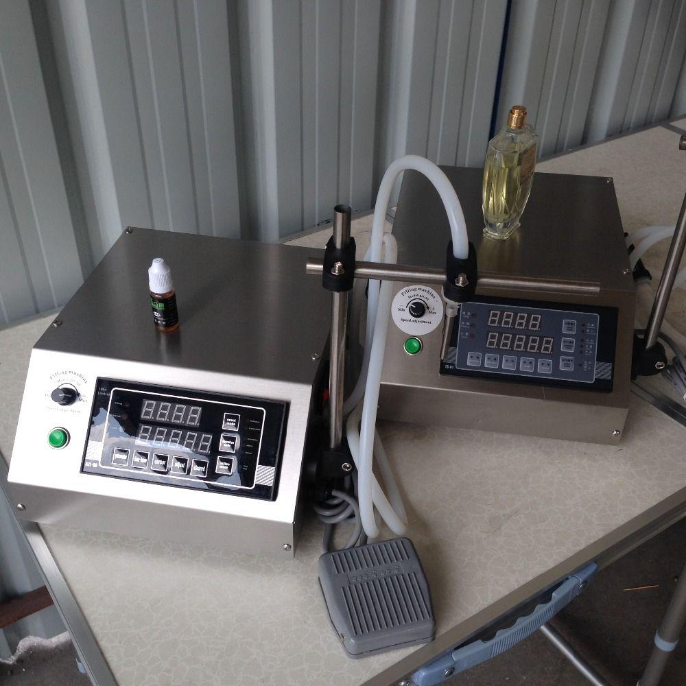 New Digital Control Pump Liquid Filling Machine With Tools Numerical Perfume Water 3-5000ML eliquid filling machine