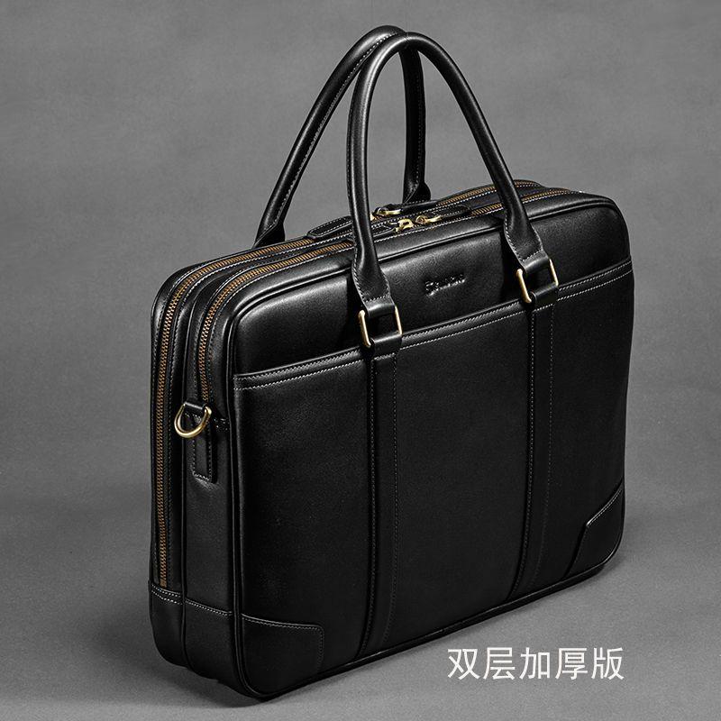Erste klasse 100% echtem leder männer marke, weichen rindsleder computer taschen, männlich fashion design luxus handtaschen