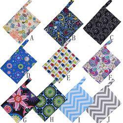 1PCS Aunt towel bag Reusable Washable Wet Bag For Sanitary Pad Menstrual Sanitary TPU Polyester Bag For 8-10pcs Sanitary pads