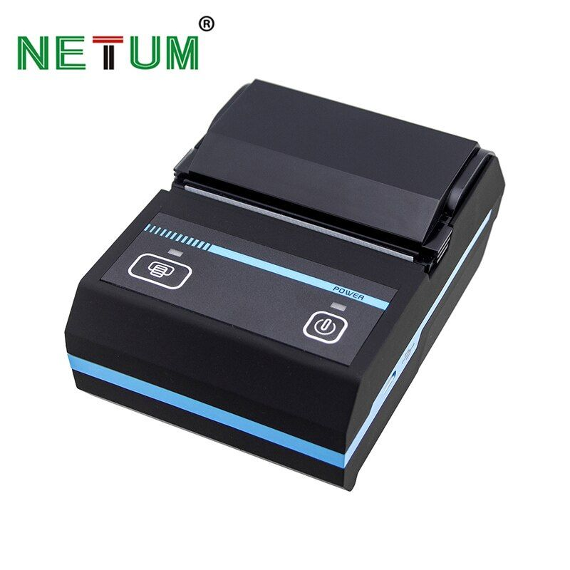 NT-1880 Tragbare 58mm Bluetooth Thermobondrucker Mobie APP 2D QR Code Belegdrucker Unterstützung Android/IOS für shop