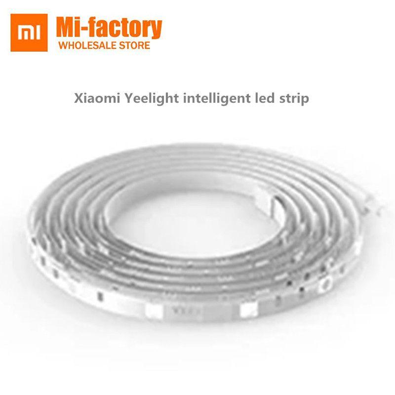 D'origine Xiaomi Musique Yeelight RGB LED Smart Lumière Bande Flexible Intelligente Scènes Vacances WiFi Contrôle Lumière 2 M/16 mil. Couleur