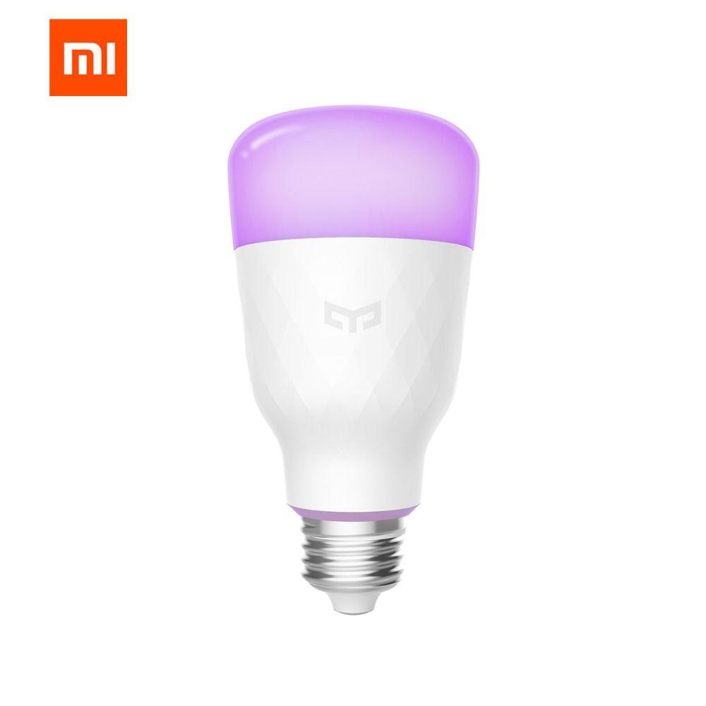 (Update version) Original Xiaomi mijia yeelight smart LED bulb colorful 800 <font><b>lumens</b></font> 10W E27 Lemon Smart bulb For mi home App