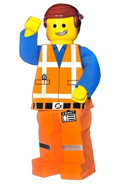 Lego Man Mascot Costume Doll Cartoon Character Cosplay Made Carnival Costume Fancy Dress Mascot Costumes