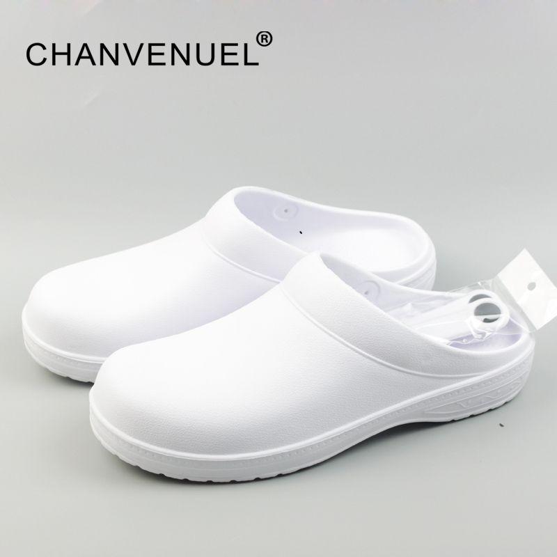2017 Femmes Classique Anti Bactéries Chirurgicale Chaussures Médicaux Chaussures Sabots De La Sécurité Chirurgicale Salle Blanche Chef Travail Chaussures Pour Femmes Unisexe