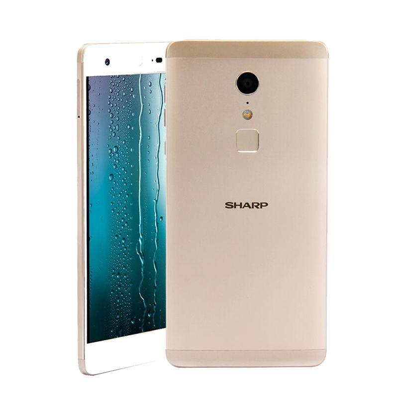 SHARP Z2 FS8002 Android 6.0 5.5 Inch 4G LTE Smartphone FHD Screen 4GB 32GB 16.0MP Camera Helio X20 Deca Core phone