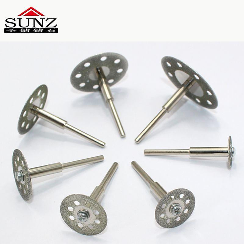 5 pièces 16 mm outil rotatif raccords, lame De scie Diamantée convient pour perceuse électrique artisan diamant tranche molette + 3mm barre 2pc