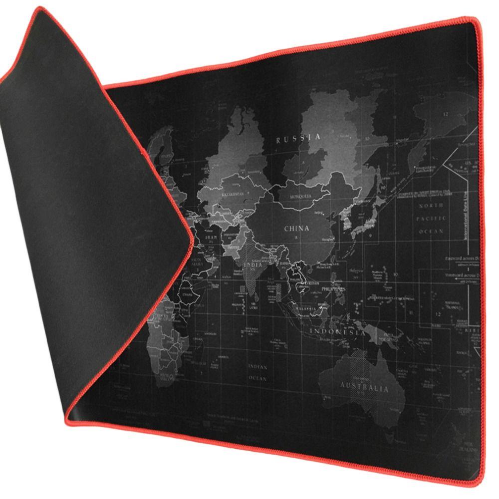 300*800*2mm 400*900*2mm World Map Design Keyboard Mouse Pad Anti-Skid Durable Mousepad Mouse Mat Keyboard Mat Table Mat