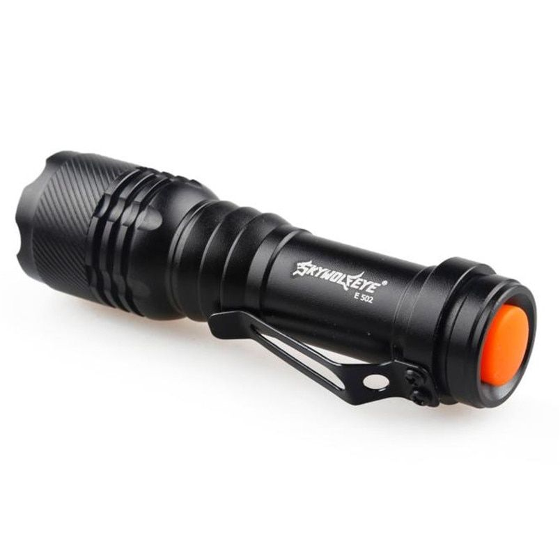 2017 Hot Sales 1200LM CREE Q5 AA/14500 3 Modes ZOOMABLE LED Flashlight Torch Super Bright NOM10
