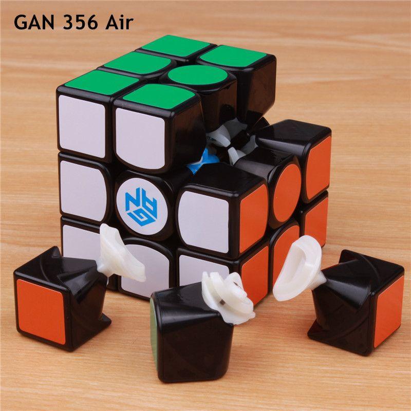GAN 356 Air SM v2 Master puzzle magnetic <font><b>magic</b></font> speed cube 3x3x3 professional gans cubo magico gan356 magnets toys for children