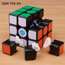 Gan 356 Air SM V2 Tuan Puzzle Magnetic Magic Kecepatan Cube 3X3X3 Profesional Gans Cubo Magico gan356 Magnet Mainan untuk Anak