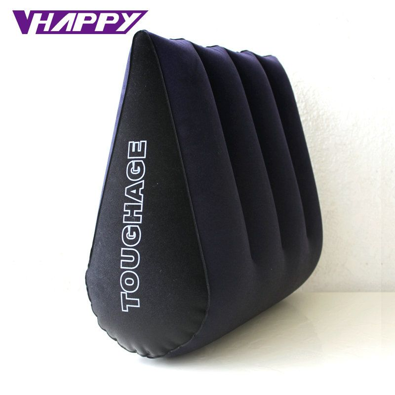 TOUGHAGE Sex Pillow Inflatable Sex Furniture Triangle <font><b>Magic</b></font> Wedge Pillow Cushion Erotic Products Adult Game Sex Toys for Couples