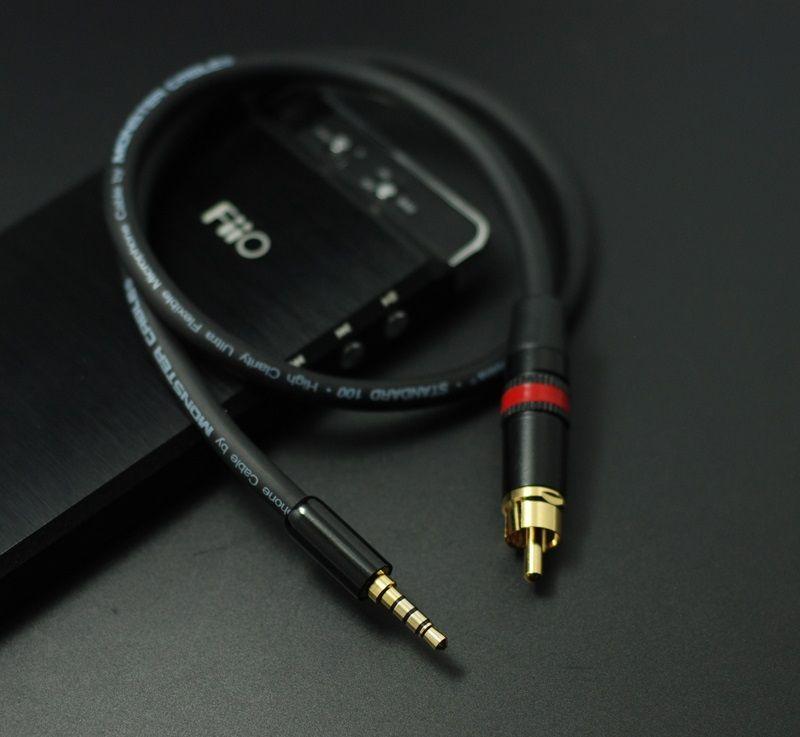 HIFI 3.5mm À RCA SPDIF Coaxial Numérique Câble Audio Pour Fiio X7 X3K X5K X5 2ème Gen X5II X3II Fiio x5 3ème gen AIGO EROS H06