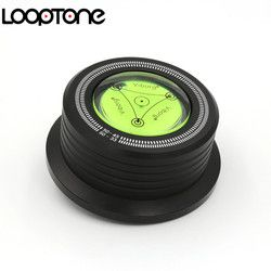 LoopTone 3 In 1 HiFi Record Clamp LP Disc Stabilizer For Vibration Balanced Vinyl Turntable Record Player Accessory 50HZ Black
