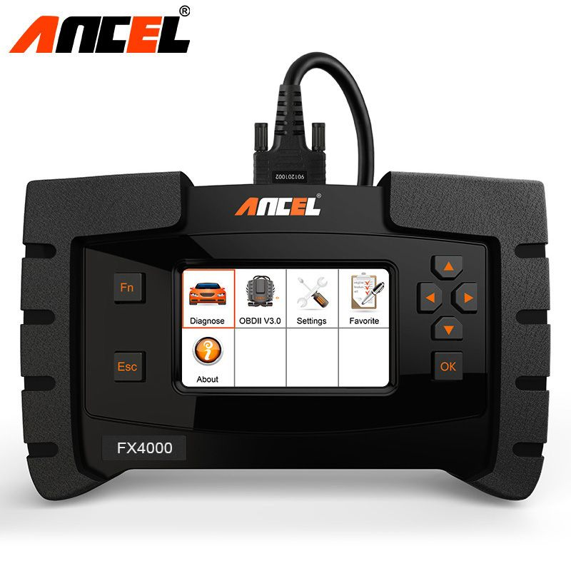 Ancel FX4000 OBD2 Diagnose Werkzeug Full System Automotive Scanner Für Airbag SRS ABS EPB ZU Öl Service Reset OBD Auto diagnose