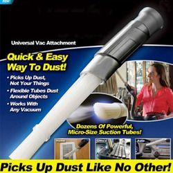 Poussière cleaner Dirt remover Multifonctionnel de nettoyage accessoires Universal Vac Attachement Comme On le Voit À la TÉLÉ Pet hair nettoyeurs papa
