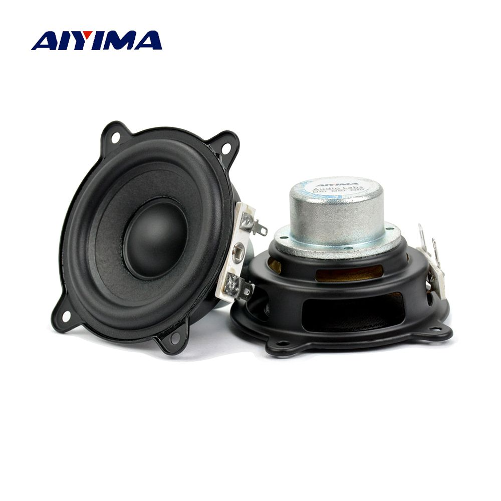 Aiyima 2.5 inch 2Ohm 15W For Beats Pill XL Speaker Woofer Full Range Neodymium Portable Car Amplifier Speaker Buletooth