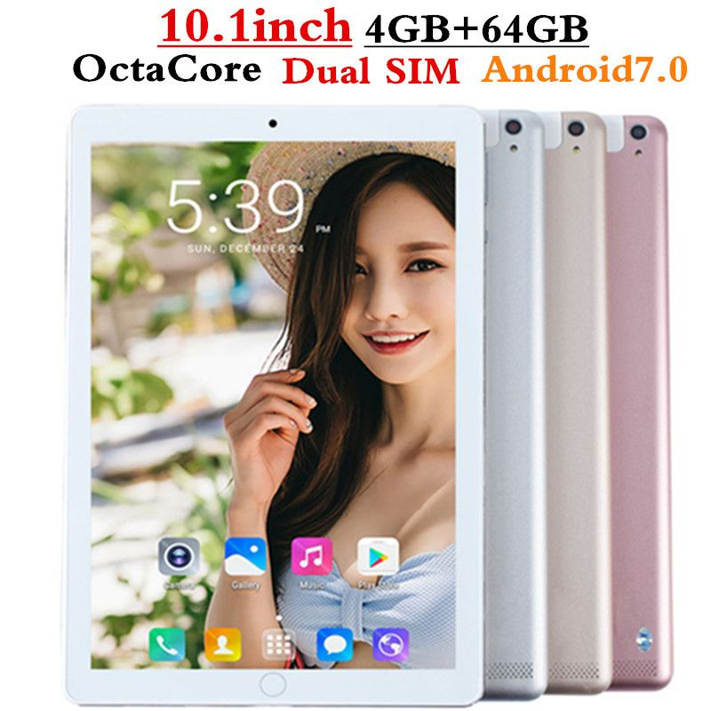 FENGXIANG Octa Core 10,1 zoll tablet pc Android Tablet 4 gb RAM 64 gb ROM Dual SIM pc tablet Bluetooth GPS Android 7.0 10 Tabletten