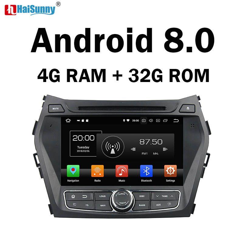 HaiSunny 4 gb RAM Octa Core Android 8.0 Auto DVD GPS Multimedia-Player Für Hyundai Santa Fe XL IX45 2012 2013 2014 Radio