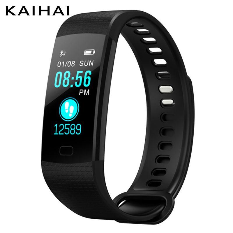 Kaihai Sport Smart Band Watch Wristband Heart Rate monitor Activity Fitness tracker Electronics Bracelet VS for Xiaomi Miband 3