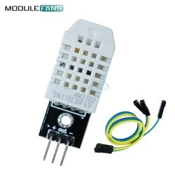 DHT22 AM2302 Digital Temperature Humidity Sensor Module For Arduino Replace SHT11 SHT15 With Dupont Cables