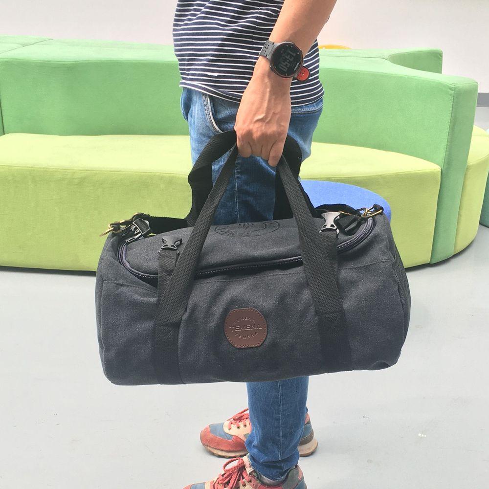 TE Для мужчин большое полотно спортивная сумка для Для мужчин Для женщин путешествия вещевой тотализатор Чемодан сумка с ремешком ac16