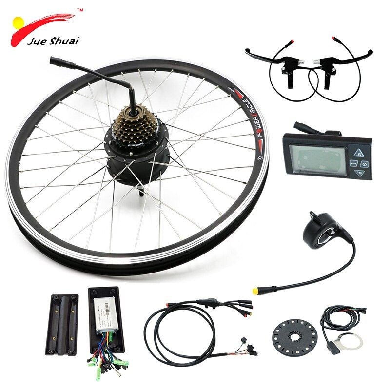 36V 48V Elektrische Fahrrad Kit Electric Bike Conversion Kit ohne Batterie 250W 350W 500W für 20