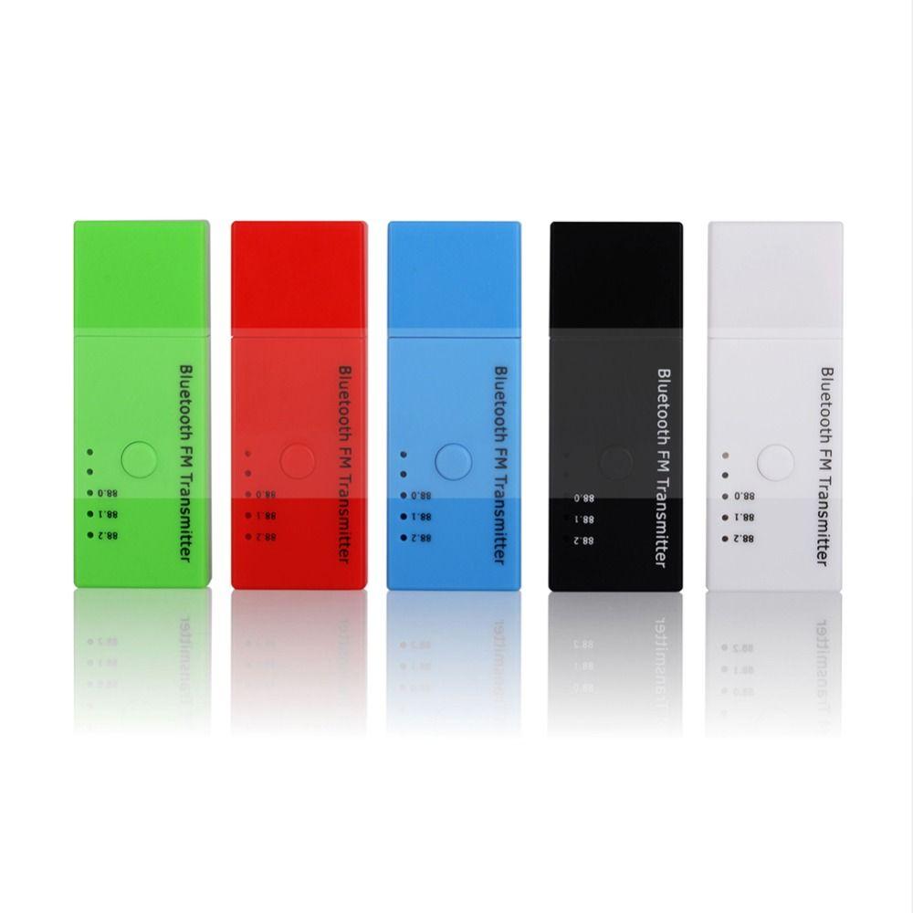 Car USB Bluetooth 4.2 FM Transmitter Wireless FM Modulator Car Bluetooth Kit Handsfree for iPhone Samsung Android