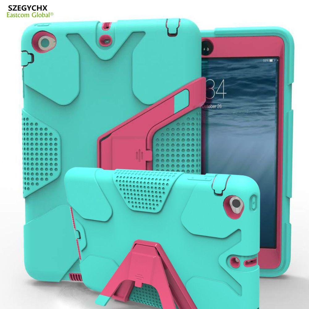 Tablette étui pour iPad Mini 1 Mini 2 Mini 3 EVA Résistant Aux Chocs Hybride Robuste En Caoutchouc Dur Peau De Protection Pour iPad 7.9 pouces