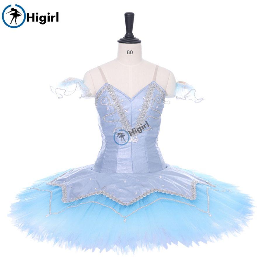 Blue Swan Lake Doll Professional Ballet Tutu Adult Blue Bird Sleeping Beauty Performance Stage Costume Tutu SB0002A