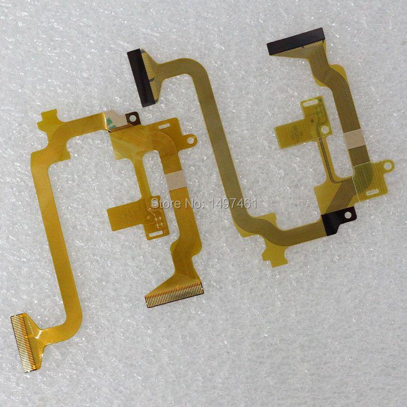 2PCS LCD hinge ritate shaft Flex Cable for JVC GZ-E10 GZ-E265 E245 E305 E315 E355 HM50 HM50BU EX355 EX210 EX270 EX315 Video