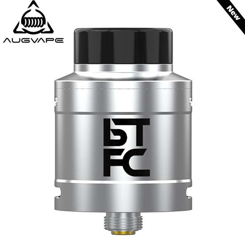 Augvape BTFC RDA Atomizer Tank 25mm Diameter 33mm Height DIY Coil Big Airflow Flavor Cloud Chasing Electronic Cigarette RDA Tank