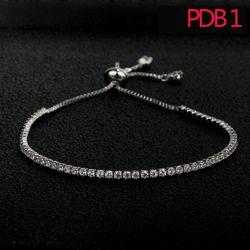 L'APB1 mode femmes bracelet en argent sterling réglage bracelet avec blanc et rose pierre pour le cadeau