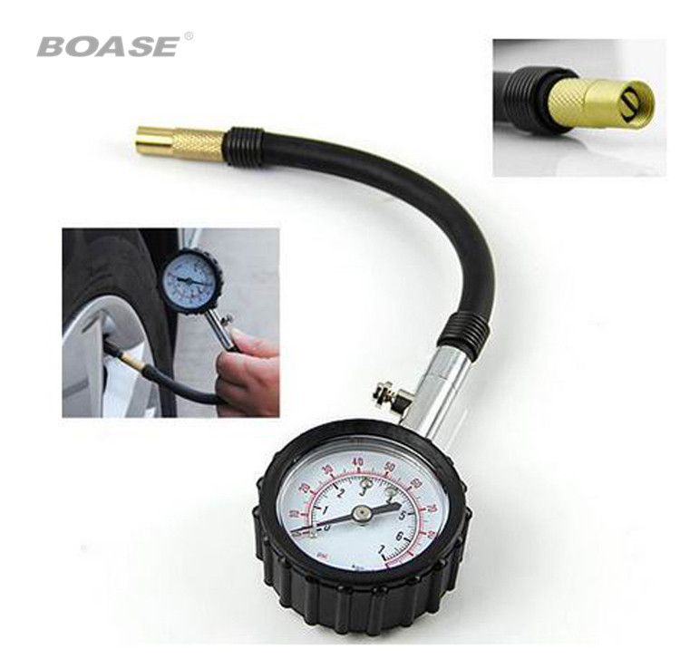Free Shipping Truck Auto Vehicle Car Tyre Tire Air Pressure Gauge 0-100PSI Tester Dial Meter