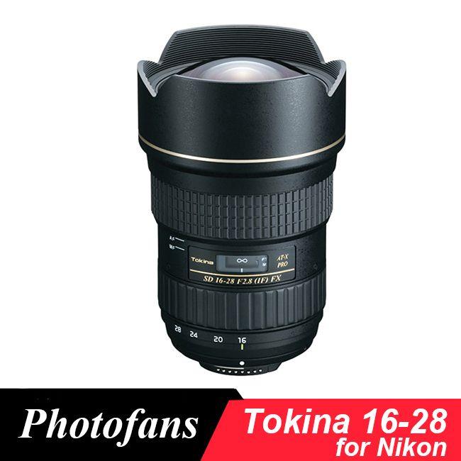 Tokina AT-X 16-28 mm f/2.8 Pro FX Lens for Nikon D600 D610 D700 D750 D800 D810 D4 D5 Df