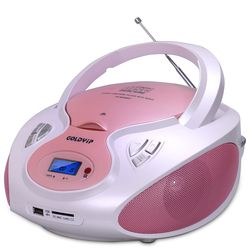 Speaker cd player Mutil-Function Portable CD for Study Antenatal Education support USB/SD antenatal training CD player