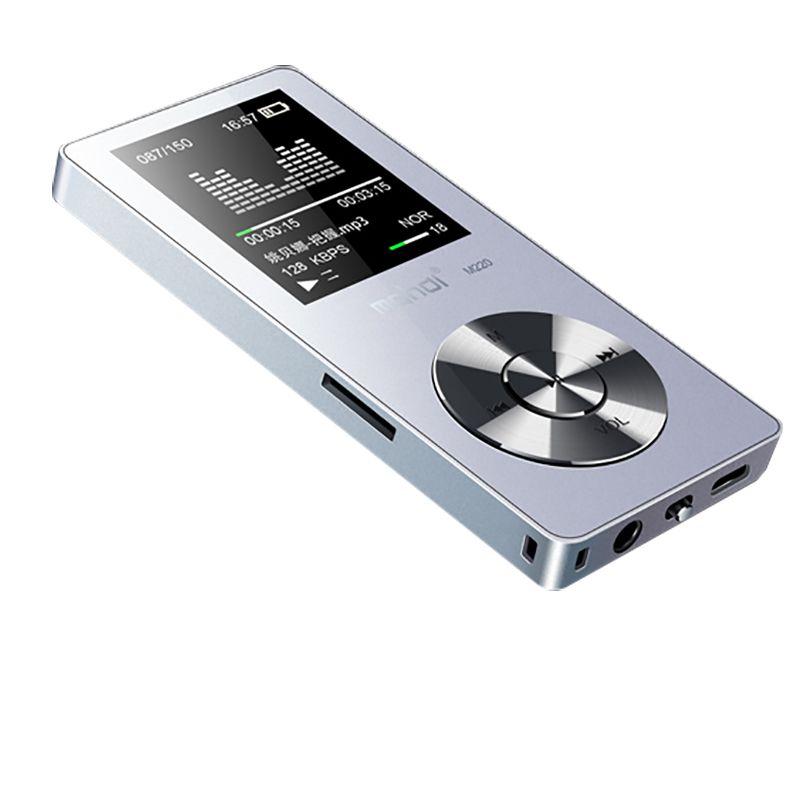 Оригинальный металлический MP3 плеер без потерь HiFi MP3 музыкальный плеер с высокое качество звук из Динамик электронная книга FM радио-часы
