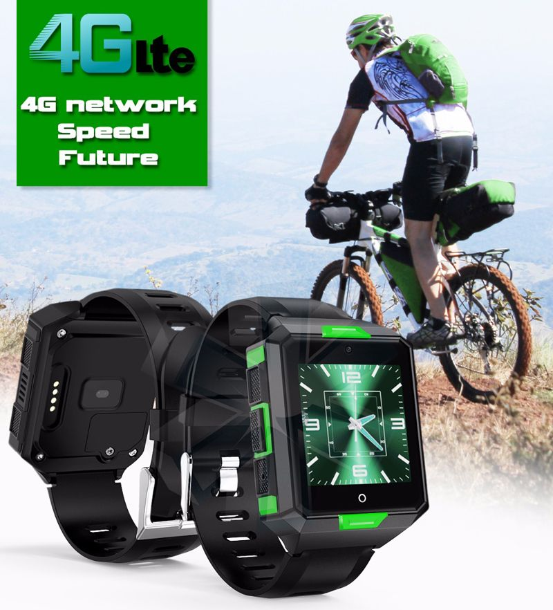 4G Smart Watch New M9 Android 6.0 MTK6737 1G+8G Smartwatch Support WIFI Nano SIM with Heart Rate Blood pressure monitor PK M5/H5