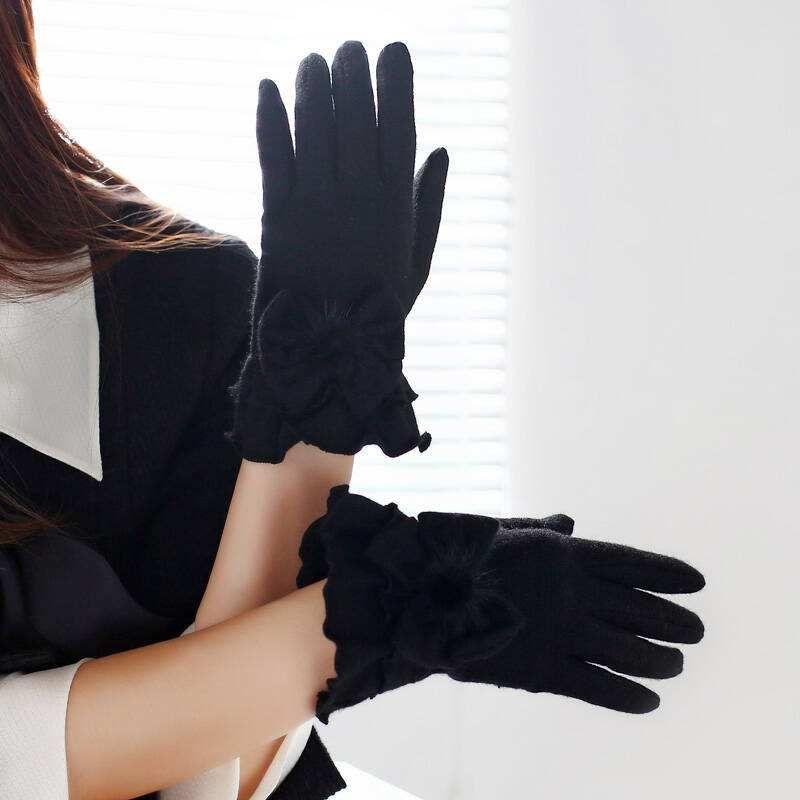 Gants de protection solaire mince pour les femmes d'été équitation batterie gants de voiture pour les femmes d'été respirant des gants de conduite courts pour crème solaire