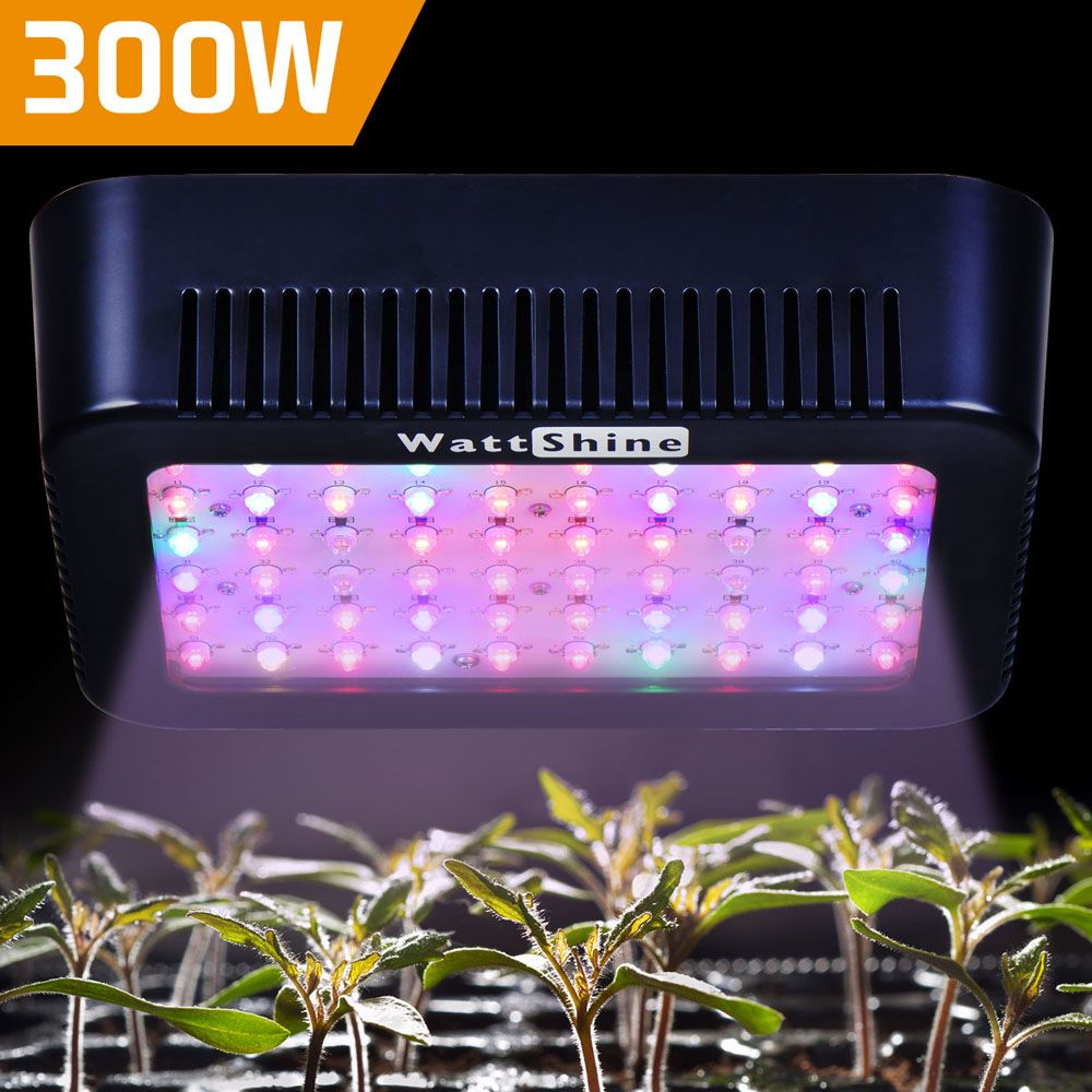 Full spectrum led grow lights 300W grow lamp 16 bands growing light for <font><b>plants</b></font> indoor Flowers Hers Greenhouse Garden tent