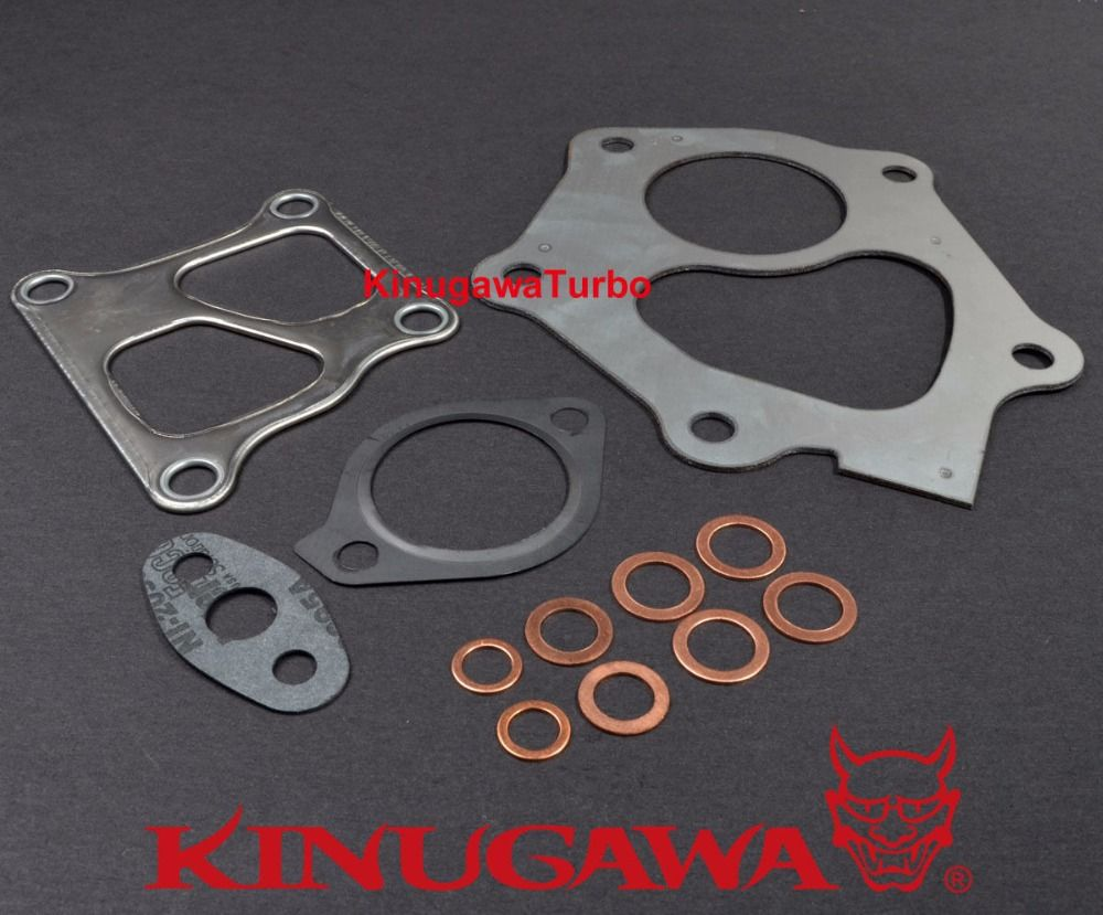 Kinugawa Turbo Gasket Kit for Mitsubishi Lancer EVO X 10 4B11T TD05H Turbocharger (12 pcs)