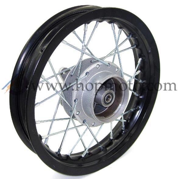 1.85x 12 inch Rear Drum Brake Aluminum Alloy  Wheel Rims hub for dirt bike pit bike KTM CRF KLX Kayo BSE Apollo Spare Parts
